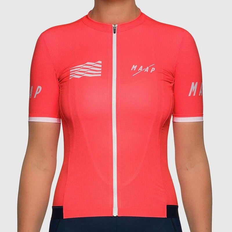 MAAP Class-Jersey De Ciclismo De manga corta Para Mujer, ropa De ciclismo...