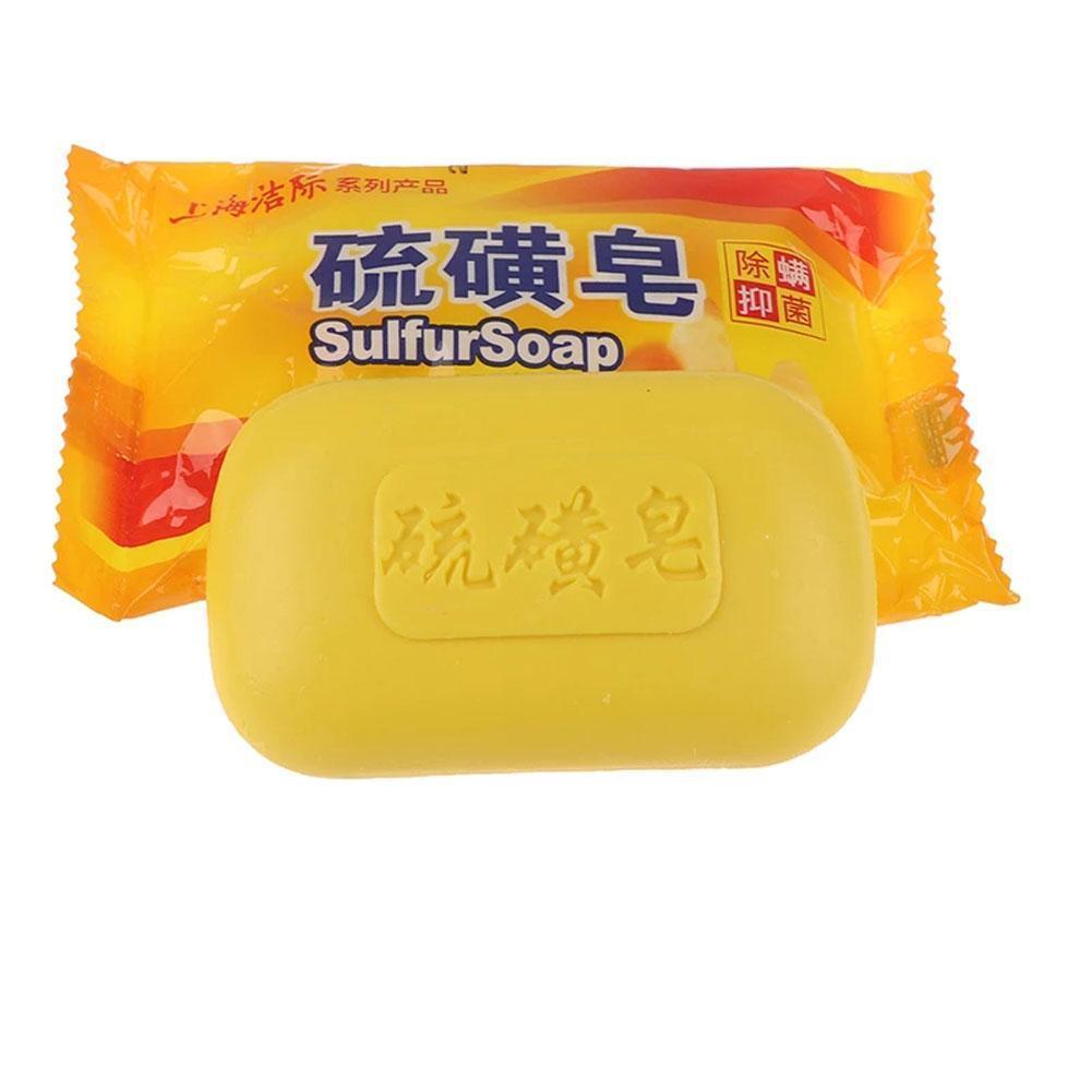 Мыло от клещей, серное мыло для сужения пор, против акне, увлажнения, отбеливания, удаления клещей, мыло против грибков, банное мыло