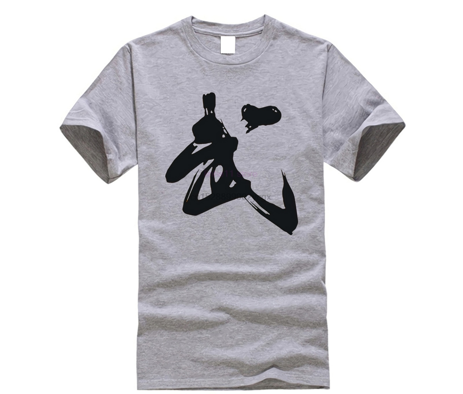 2019 New Chinese Calligraphy Martial Word Men T-shirt China Shaolin Kung Fu Culture Print Tshirt Fashion Street T Shirt 3XL