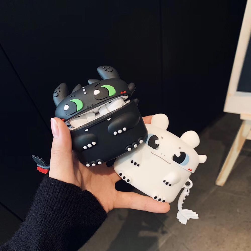 Чехол для Airpods Pro силиконовый милый Bluetooth чехол для наушников для Airpod Pro Чехол Для Air Pods Pro Naruto 3D ночной брелок