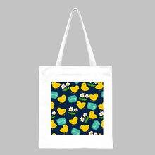 Women Canvas Bags Female High Capacity Shoulder Bag Eco Handbag Shopping Tote Reusable Grocery Bags