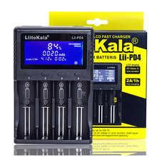 Genuine/Original Liitokala Lii-PD4 18650 Charger 1.2V 3.2V 3.7V 3.85V AA / AAA 26650 16340 25500 NiMH Lithium battery charger