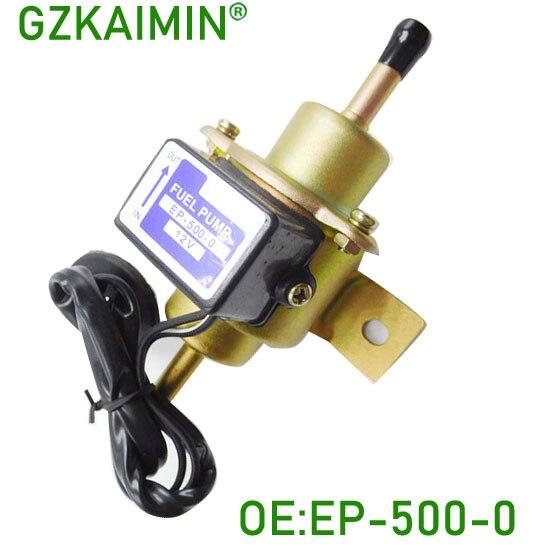 Garuantee высшее качество универсальный дизельный бензин 12V электрический автомобильный топливный насос EP500-0 EP5000 EP-500-0 035000-0460 EP-500-0