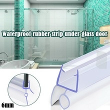 2 шт Толщина стекла 4-6 мм уплотнительное кольцо полоса для душа ванной экран двери