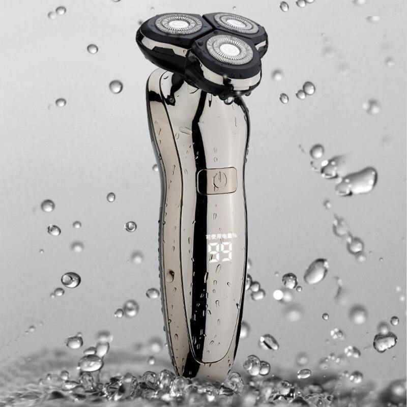 Electric Shaver For Men Men's shaver Electric razor trimmer for men Washable professional Shaving Machine  Clipper hair trimmer enlarge