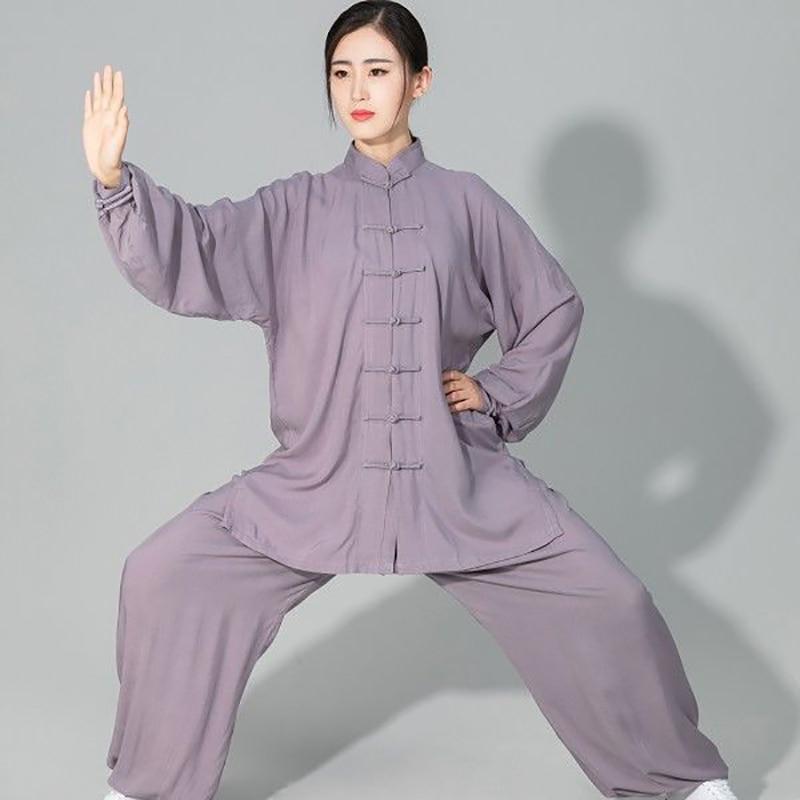 USHINE Профессиональный Тай Чи форма из хлопка 6 Цвета высокое качество ушу Кунг фу костюмы для детей и взрослых боевых искусств Wing Chun костюм| | | АлиЭкспресс