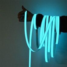 EL bandes bande LED pour voiture lumière pour bricolage AD LOGO flexible néons lueur corde fête décoration bande lampe USB 12V rétro-éclairage panneau