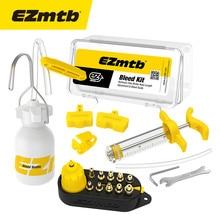 EZmtb Master bicicleta Universal freno de disco hidráulico Bleed Kit para Magura Hayes fórmula Sram Avid ZOOM gigante freno