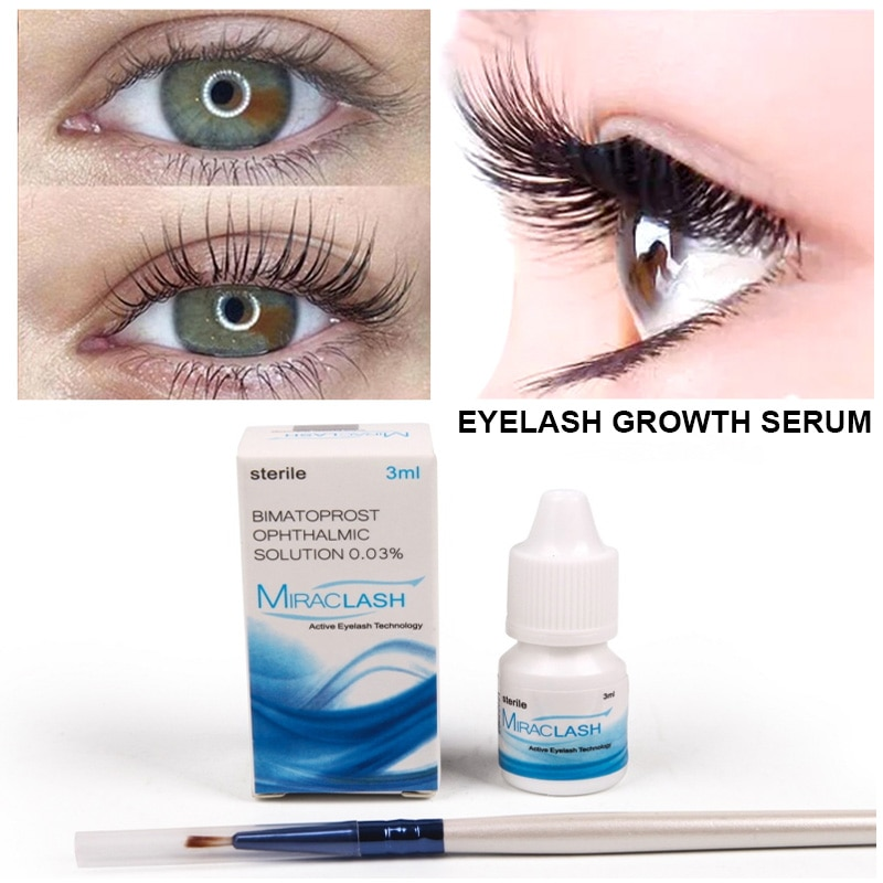 Eyelash Growth Eye Serum Eyelash Enhancer Longer Fuller Thicker Lashes Serum Eyelashes Lifting Eyebrows Enhancer Mascara Serum недорого