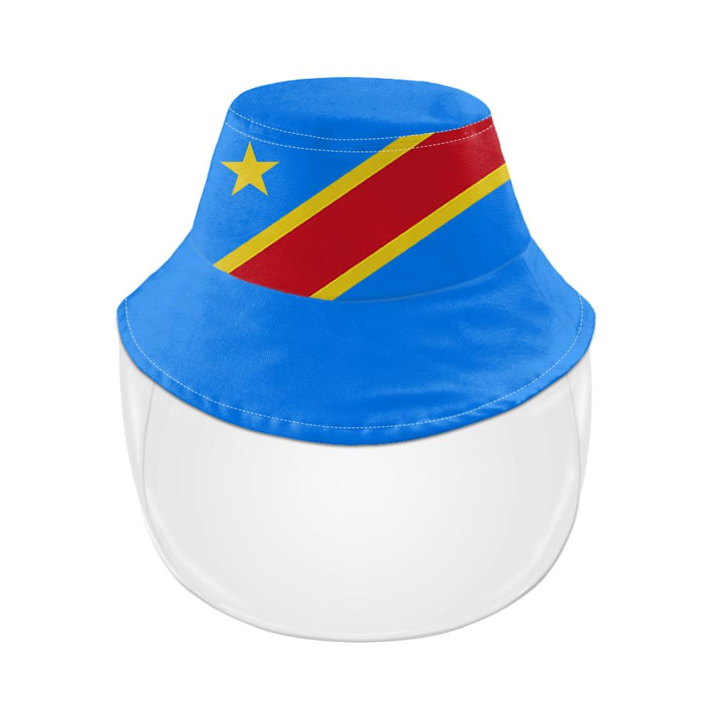 Zaïre Jeugd Gratis Custom Made Naam Nummer Zar Visser Hoed Natie Vlag Za Congo Land Franse Print Foto Casual Cap