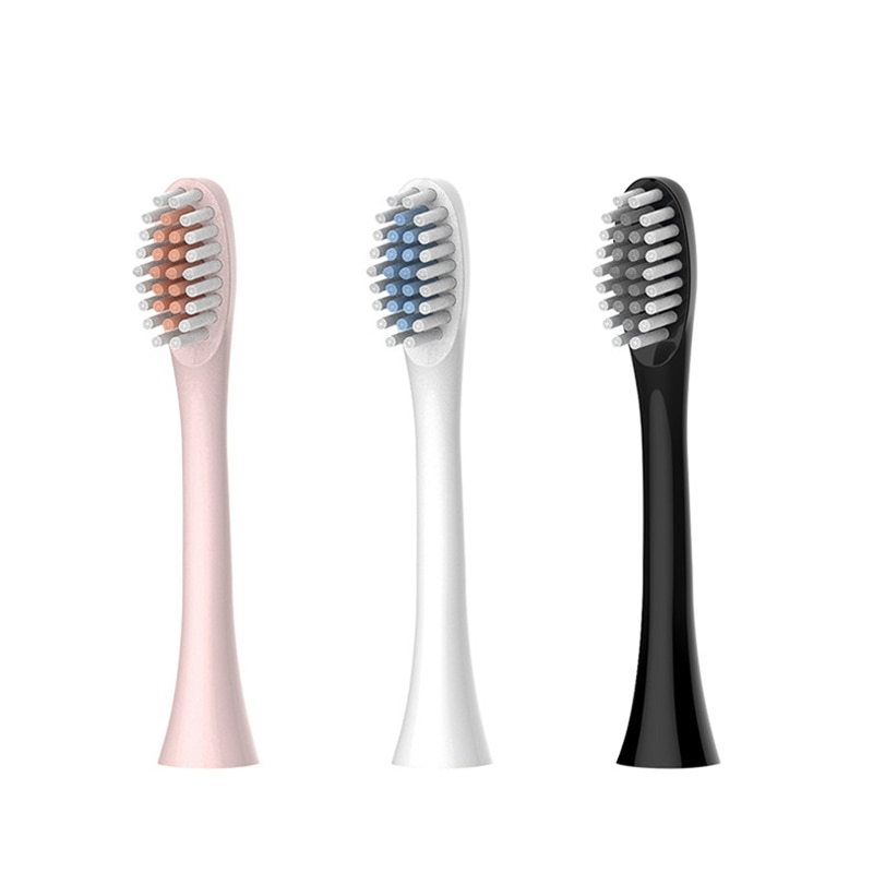 electric sonic toothbrush heads Toothbrush Heads For Sonic Electric Toothbrush 6 Mode USB Charger IPX7 Waterproof Smart Electric Toothbrush Head Replacement