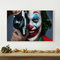 classic joker movie canvas poster killer take pictures canvas painting print picture wall art living room home decoration mural