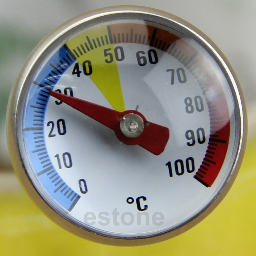 Instrumentos de temperatura termómetro sonda especial leche en polvo comida Acero inoxidable lectura instantánea