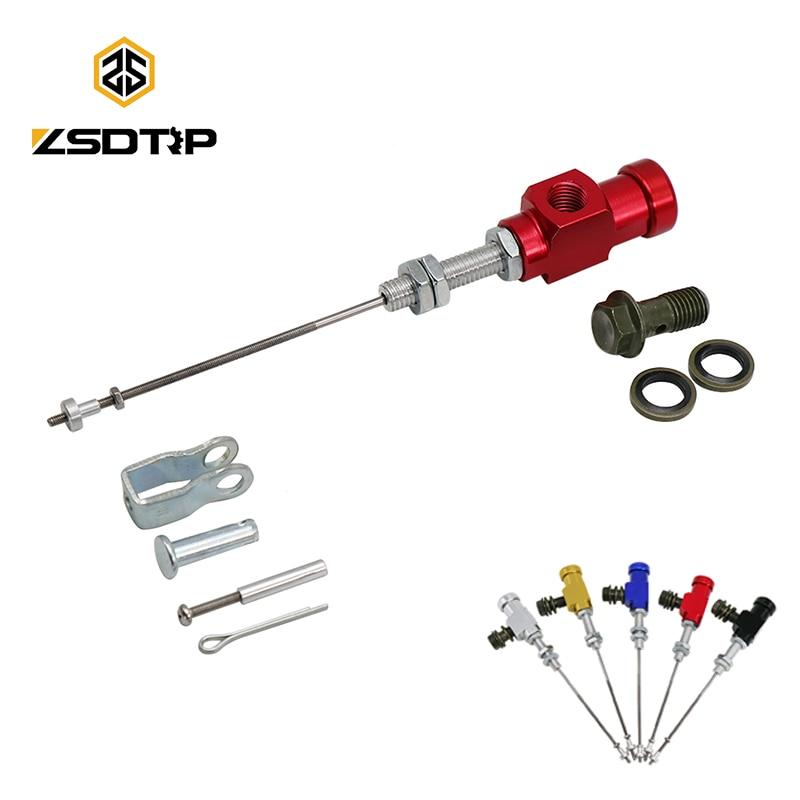 ZSDTRP M10x1.25mm Motorcycle Hydraulic Brake Clutch Master Cylinder Rod System Performance Efficient Transfer Pump