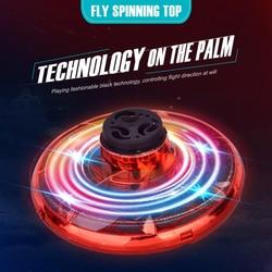 Zk20 brinquedos fidget giroscópio giratório flynova antiestresse reliever brinquedos mão spinner dedo bens para adulto e presente das crianças