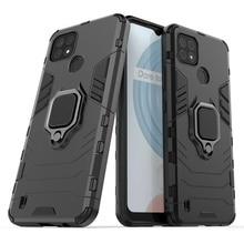 Phone Case For OPPO Realme C21 Cover For Realme C21 Capas Phone Bumper PC Holder Magnetic Armor Case