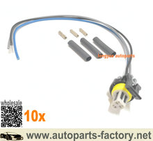 longyue 10pcs Injector Control Pressure (ICP / EBP) Sensor Connector Pigtail 97-07 7.3L 6.4L 6.0L Ford Diesel 5C3Z-12224-A