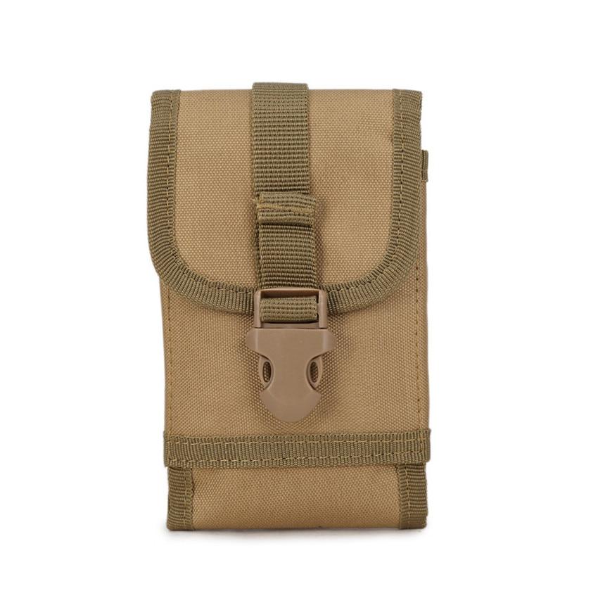 Funda táctica al aire libre militar senderismo escalada Molle bolso de correa de cintura de cadera cartera bolsa monedero funda de teléfono 9 colores