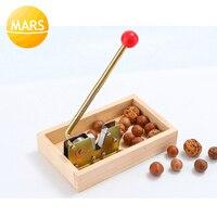 Manual Macadamia Nut Opener Nut Cracker Machine Walnut Nutcracker Nut Sheller Tool Macadamia Nut Opening Kitchen Accessories