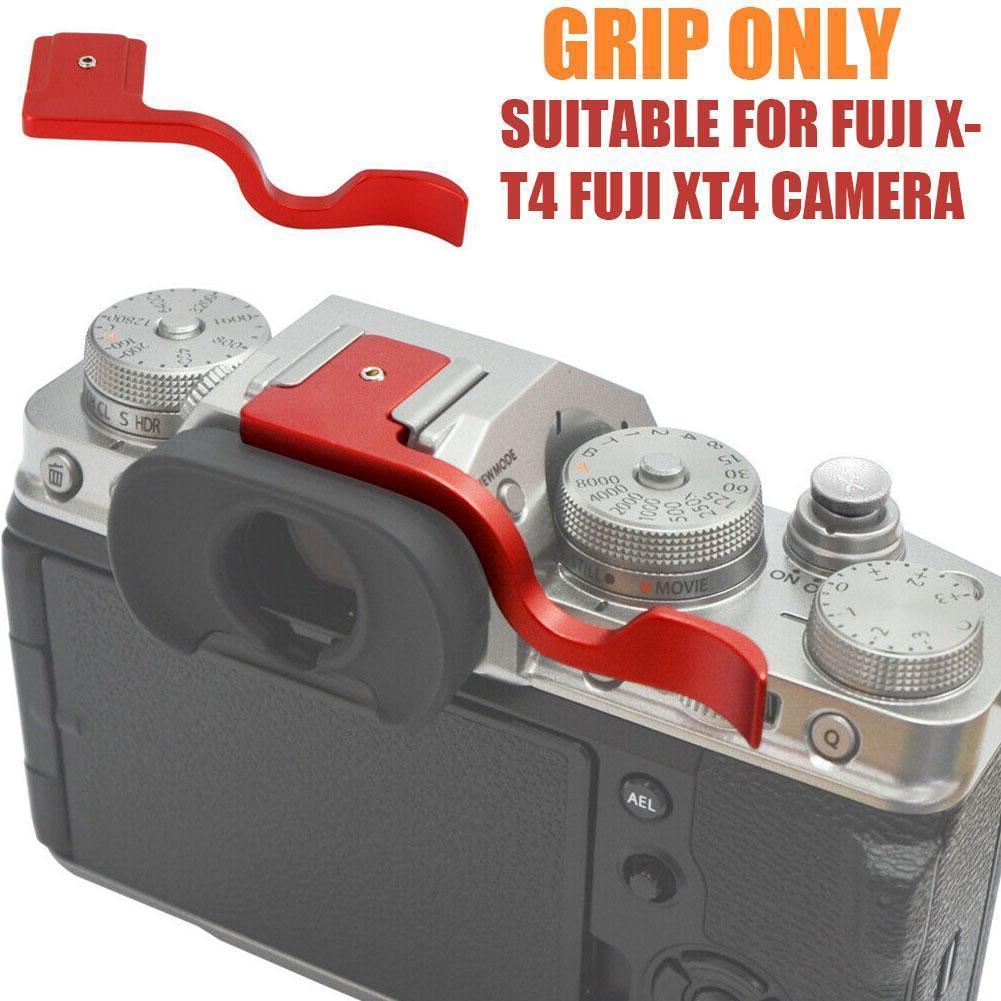 BGNing aluminiowa osłona gorącej stopki kciuk Hotshoe kciuk XT3 dla Fujifilm Up X-T2 X-T30 XT20 X-T1 XT-10 dla Fuji XT2 Grip Came O6U5