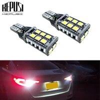 2pcs w16w t15 led bulbs canbus obc error free led backup light 921 912 w16w led bulbs car reverse lamp xenon white
