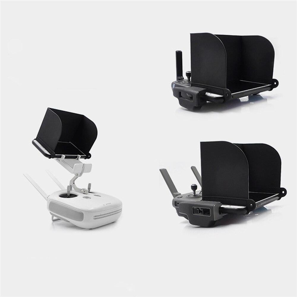 Capa protetora para dji mavic mini/mavic 2 drone monitor de transmissor capa de sol anti-reflexo da tela do monitor do telefone