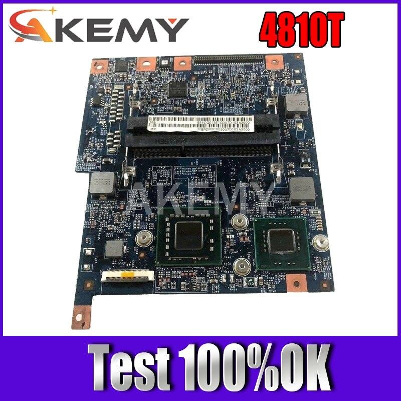 Akemy-placa base para ordenador portátil Acer aspire 4810 4810T, 48.4CQ01.021 MBPDM01001 GS45...