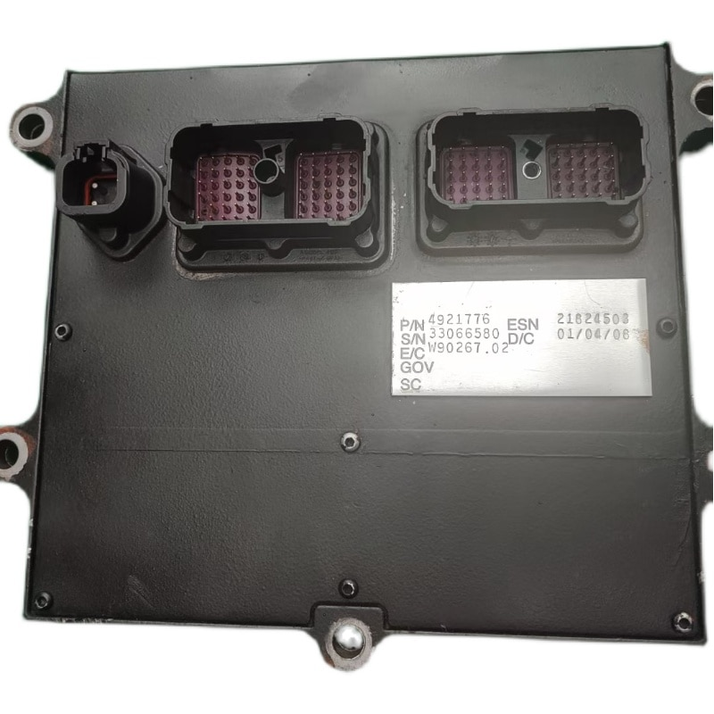 95% جديد قطع غيار محرك الديزل QSB6.7 ECU ECM 4921776 4921797 حقيقية وحدة التحكم الكهربائية