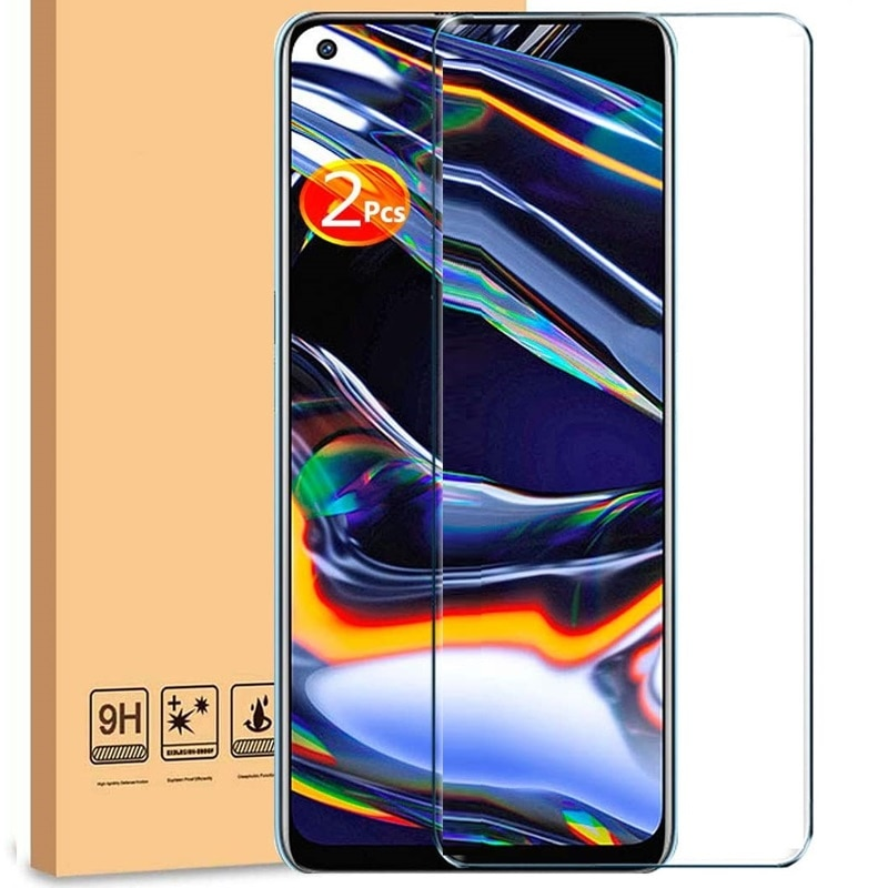 For Oppo Realme 7 / 7 Pro Tempered Glass Screen Protector Ultra Thin Explosion-proof Protective Film