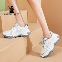 Casual Platform Shoes Women Sneakers 2021 Autumn Outdoor Chunky Baskets Femme Sneakers Ladies Fashio