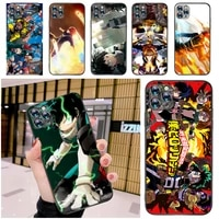my hero academia tomura boku bakugou katsuki dabi shigaraki todoroki shouto phone case for iphone 12 pro max mini se back cover