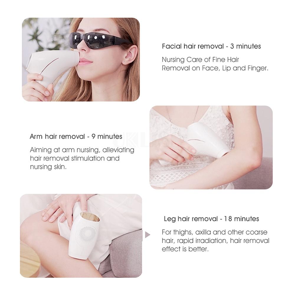 Freezing Laser Epilator Fat Freezing Machine Ipl Hair Removal Body Depilador At-home Use Electric Painless Photoepilator enlarge