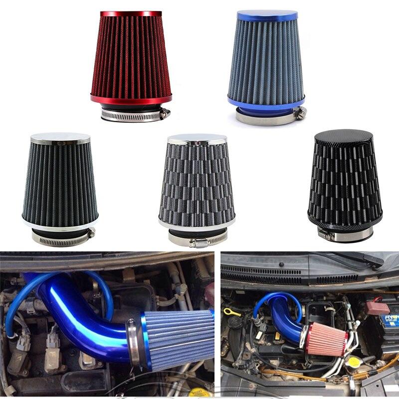 Универсальный воздушный фильтр 76 мм 70 мм 65 мм, автомобильные Высокопроизводительные воздушные фильтры с высоким потоком для холодного Возд...