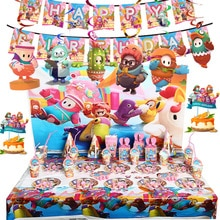 Full Guys Theme Birthday Party Decorations Full Guys Cups Flags Plates Straws Party Supplies New Yea