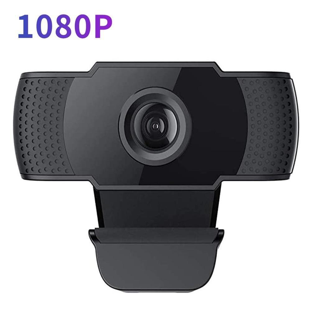 Cámara web de visión nocturna 1080p hogar gran angular nube almacenamiento Red Seguridad web Cámara Streaming Widescreen USB cámara de ordenador