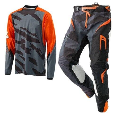 Top MX, camiseta de Motocross y pantalones, conjunto de equipo de carreras, traje de bicicleta de montaña, combinación de Motociclismo