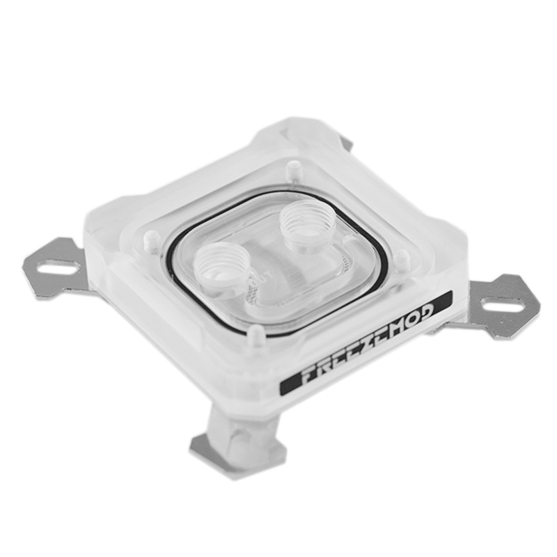 FREEZEMOD PK5E CPU bloque de refrigeración de agua para IN-TE-L LGA 1151 115X 2011 5V 3Pin RGB placa Base de cobre ligero