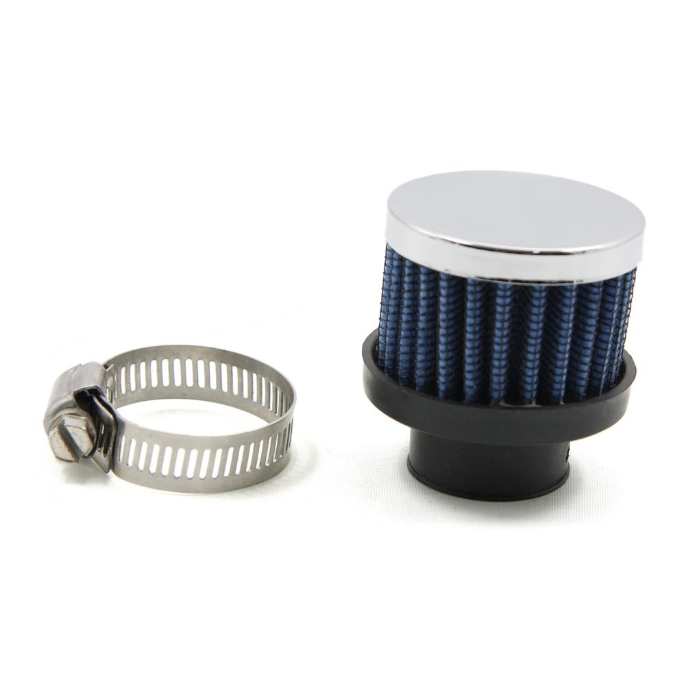 Diámetro de 25 MM, Mini coche, filtro de aire pinza-en Auto de la motocicleta de admisión de aire de aleación de aluminio de filtros de aire frío para los coches