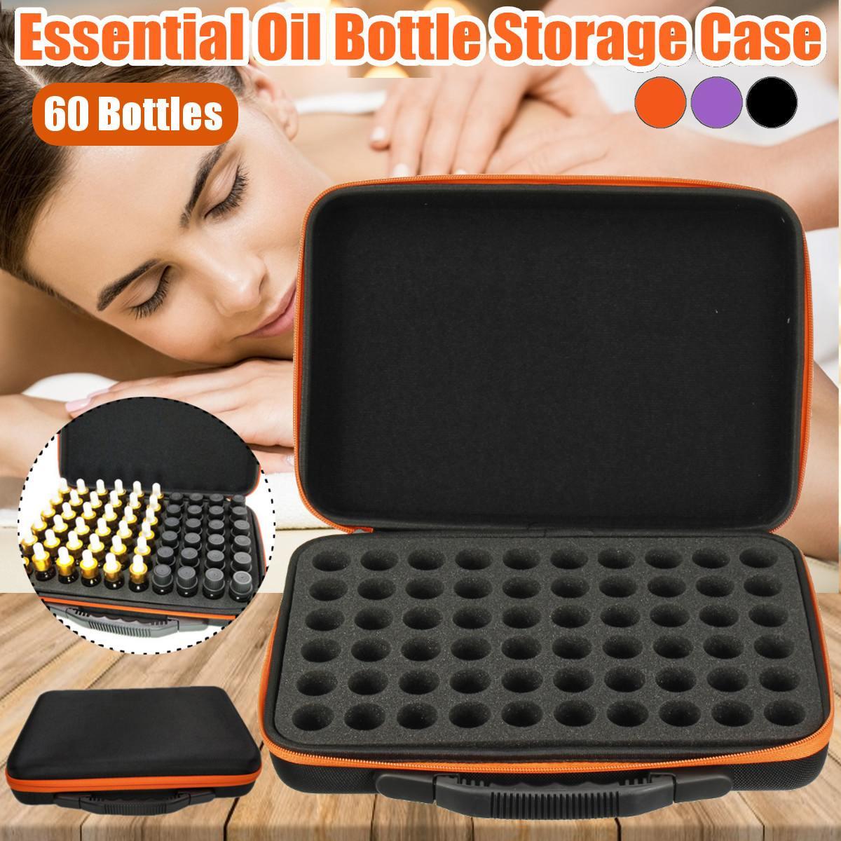 Estuche para aceites esenciales, caja de viaje portátil para llevar esmalte de...