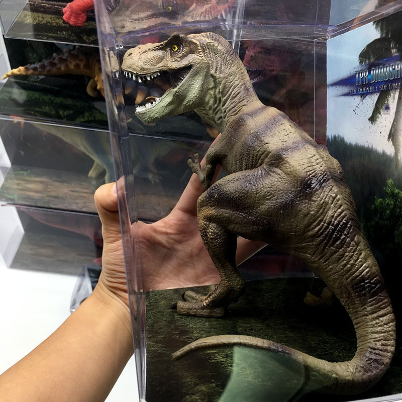 Große Größe Jurassic Wilde Leben Dinosaurier Spielzeug Tyrannosaurus Rex Welt Park Dinosaurier Modell Action-figuren kinder Spielzeug Geschenk
