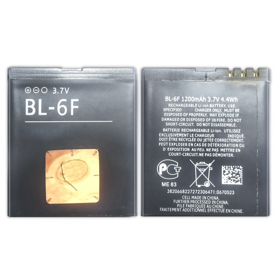 BL-6F batería de repuesto para Nokia 6788 N78 N79 N95 6788 6788I...