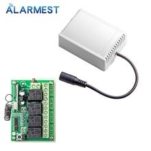 ALARMEST-sortie relais 4CH pour contrôle   Petits appareils ménagers pour alarme wifi G90B systèmes de sécurité domestiques