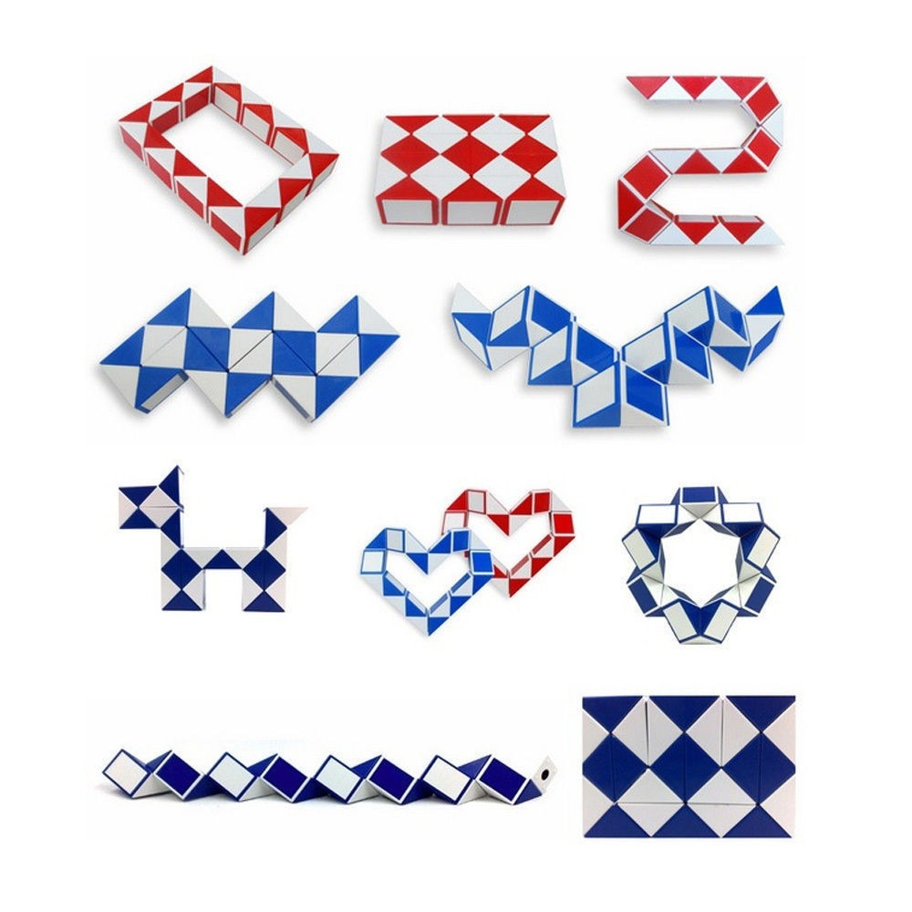 2021 Cool Snake Magic Interesting Variety Popular Kids Game Transformable Gift Puzzle Children Companion Creative Funny Toys