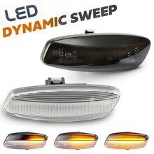 Feu de marqueur latéral pour Citroen C4 coupé   LED, Signal de retournement dynamique, Picasso C5 X7 C3 DS3 DS4, lampe indicateur séquentiel