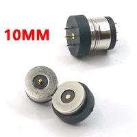 1pair 10mm magnetic dc jack smart water cup charging magnet connector 3a high current strong magnetic led light power socket