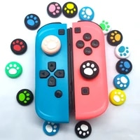 ns switch handle cat claw rocker cap switch lite animal forest cat claw cap joystick protective cover suitable for game consoles