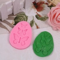 butterfly mold silicone baking accessories 3d diy mould fondant cake decorating