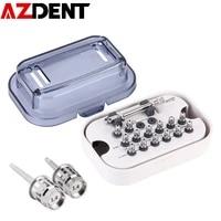 azdent dental implant torque wrench screwdriver kit 10 70ncm ratchet 10 40ncm hex drivers dentistry implant repair tools