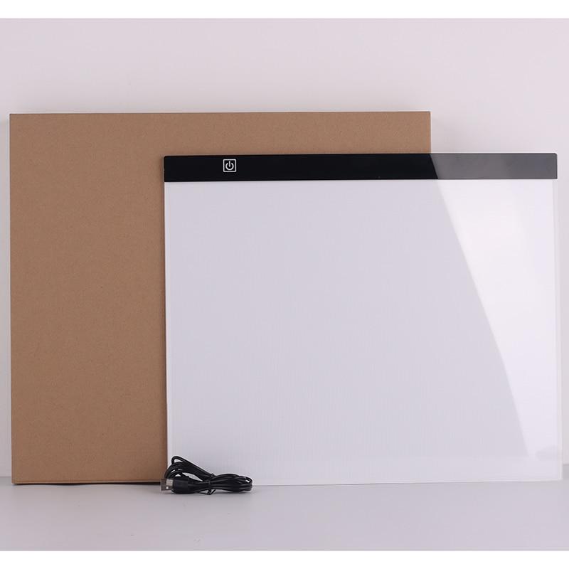 لوحة الرسم مع ضوء LED ، USB A3 Artcraft ، صندوق إضاءة ، لوحة نسخ رقمية ، لوح رسم ، لوح رسم ماسي