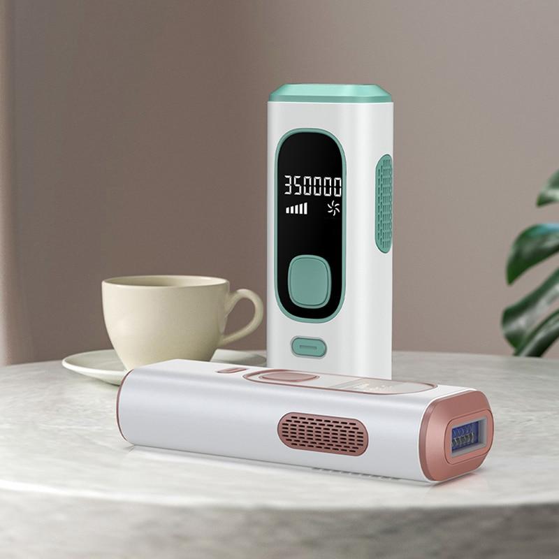 جهاز إزالة الشعر بالليزر المنزلية جهاز إزالة الشعر الدائم بالليزر 999999 اللمعان للرجال والإناث إزالة الشعر بالليزر